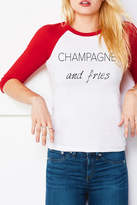 Bella Canvas Champagne & Fries Tee