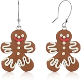 Dolci Gioie Gingerbread Man Earrings