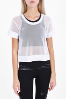 Lucas Hugh Mesh Crop Top