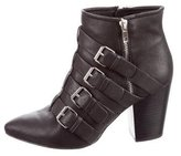 Rebecca Minkoff Audrey Buckle-Accented Ankle Boots