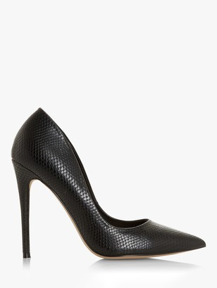 Head Over Heels Aimees Pointed Toe Stiletto Court Shoes