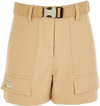 River Island Girls Beige Maison Riviera utility shorts