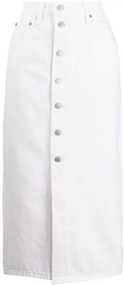 Levi's Button-Front Denim Skirt