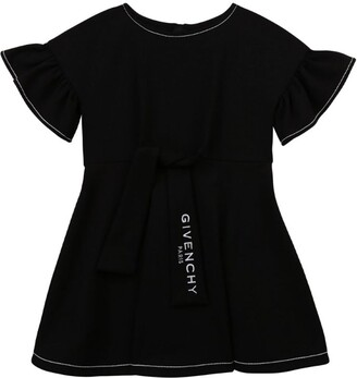 Givenchy Kids Tie-Waist Logo Dress (4-14 Years)