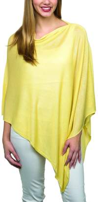 Top It Off Lightweight Bamboo Poncho