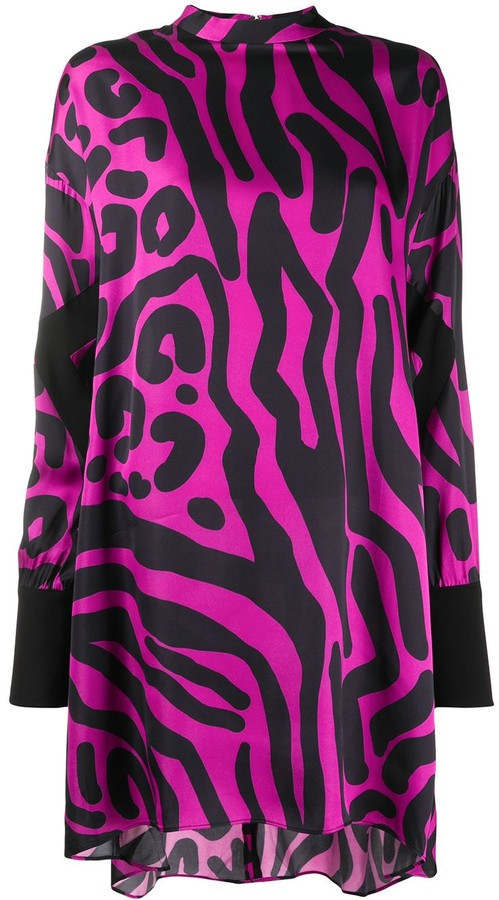 Just Cavalli Animal-Print Shift Dress