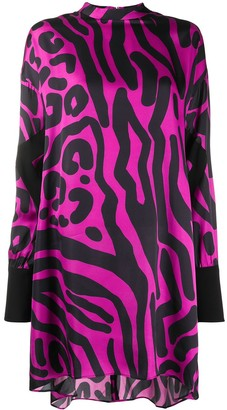 Just Cavalli Animal-Print Shift Dress