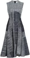 Jason Wu checked sleeveless dress