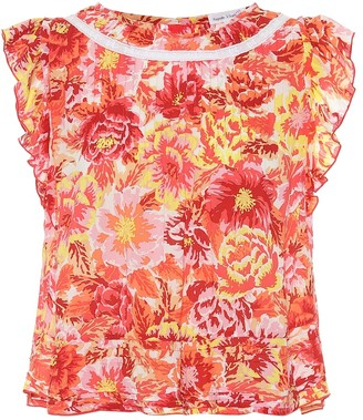 Poupette St Barth Exclusive to Mytheresa Printed top