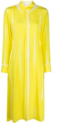Paul Smith Long-Sleeved Striped Shirt Dress