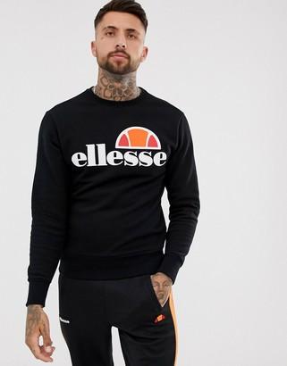 Ellesse Sweatshirt With Classic Logo In Black
