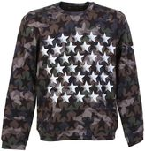 Valentino Camustar Print Cotton Sweatshirt With White Stars