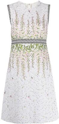 Giambattista Valli Floral-Embroidered Dress