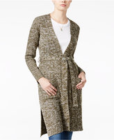 Almost Famous Juniors' Duster Cardigan with Belt