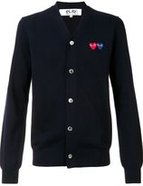 Comme des Garcons 'Double Heart' cardigan - men - Wool - XL