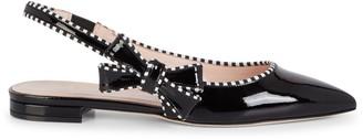 Kate Spade Becki Patent Leather Slingback Flats