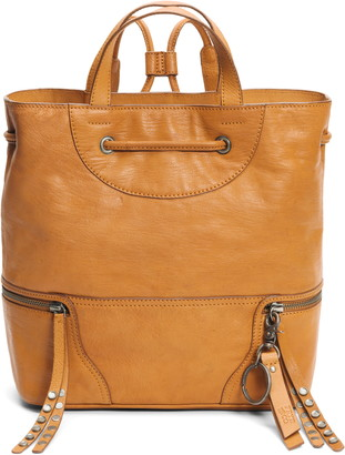 Frye AND CO Dallas Leather Backpack
