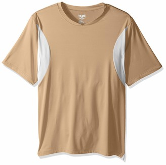 AquaGuard Men's Short-Sleeve Athletic V-Neck Jersey
