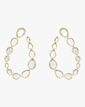 Isharya Mirrors-on-the-Move Teardrop Earrings