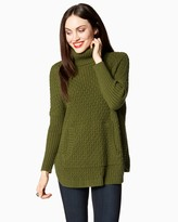 Charming charlie Cabin Fever Turtleneck Sweater