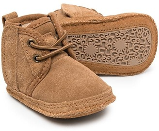 Ugg Kids Lace-Up Wool Boots