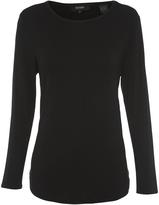 Oxford Maya Long Sleeve T-Shirt Nvy X