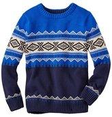 Boys Ski Run Sweater