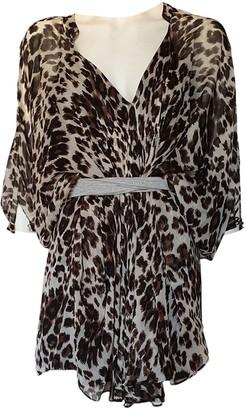 Diane von Furstenberg Brown Silk Dresses
