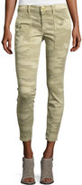 Current/Elliott The Station Agent Camo Cropped Skinny Jeans
