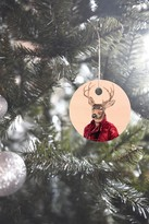 DENY Designs Animal Crew Red Deer Ornament
