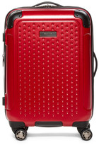 """Kenneth Cole Reaction 20\"""" Embossed Dot Hardside Carry-On Suitcase"""