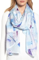 Nordstrom Women's Mosaic Silk Wrap
