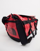 The North Face Base Camp small duffel bag 50L in red