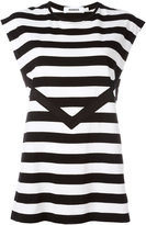 Marios striped sleeveless T-shirt - women - Cotton - S