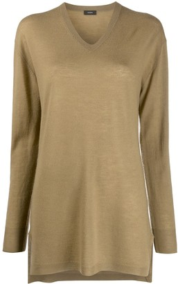 Joseph Long V-Neck Jumper