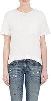 R 13 Women's Cotton-Blend Patch Pocket T-Shirt