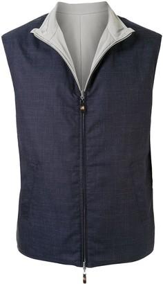 Colombo Two-Tone Reversible Vest