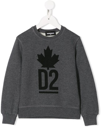 DSQUARED2 D2 logo sweater