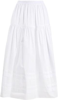 Cecilie Bahnsen Eiko tiered long skirt
