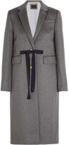 J.Crew Collection Olivia Wool And Cashmere-blend Coat - Gray
