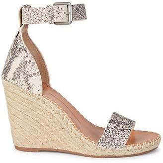 Dolce Vita Noor Leather Espadrille Wedge Sandals