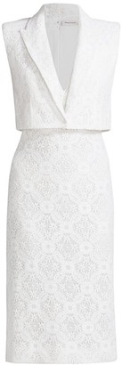 Alexander McQueen Lace Blazer Dress