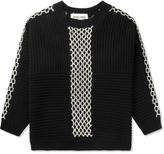 Henrik Vibskov Black Momo Knit Sweater