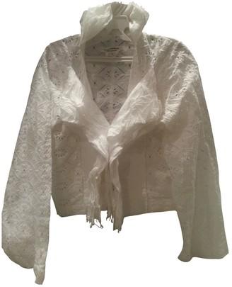 Junya Watanabe White Linen Knitwear for Women