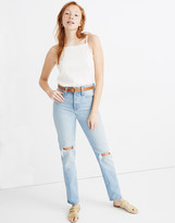 Madewell Classic Straight Full-Length Jeans in Hartsville Wash
