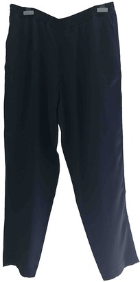 LAYEUR Navy Trousers for Women