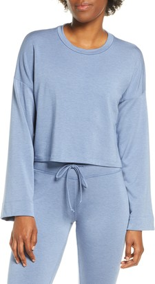 Beyond Yoga Tunnel Sleeve Crop Pullover