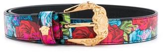 Versace Engraved Buckle Belt