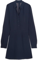 Reformation Georgette Mini Dress - Midnight blue