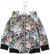 Little Marc Jacobs reversible hooded jacket